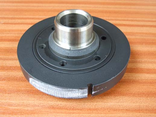 Crankshaft balance damper (serpentine)