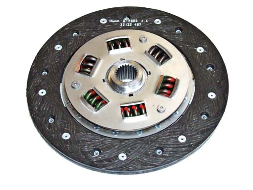 Power clutch plate