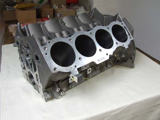 v8 engine block