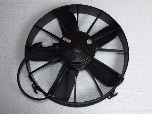 Radiator cooling fan