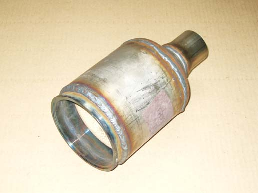 Reconditioned speed 6 catalytic converter.