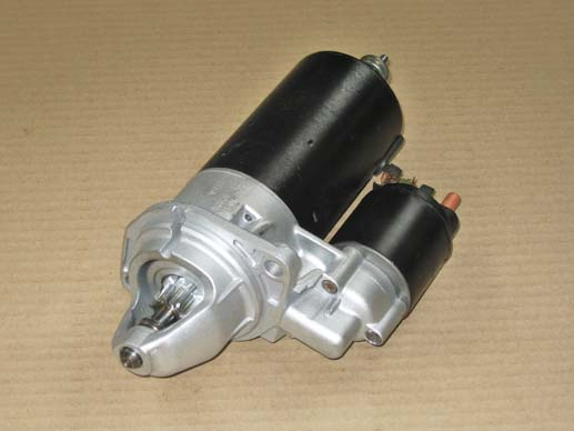 Reconditioned starter motor