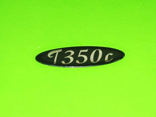 T350C sticky boot badge.