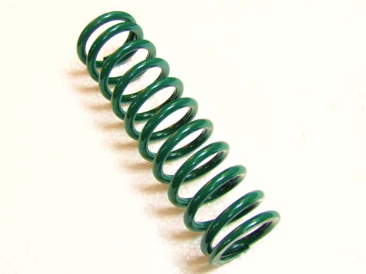 Shock absorber spring (dark green)